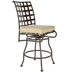 OW Lee Classico Armless Swivel Counter Stool - 951-SCS