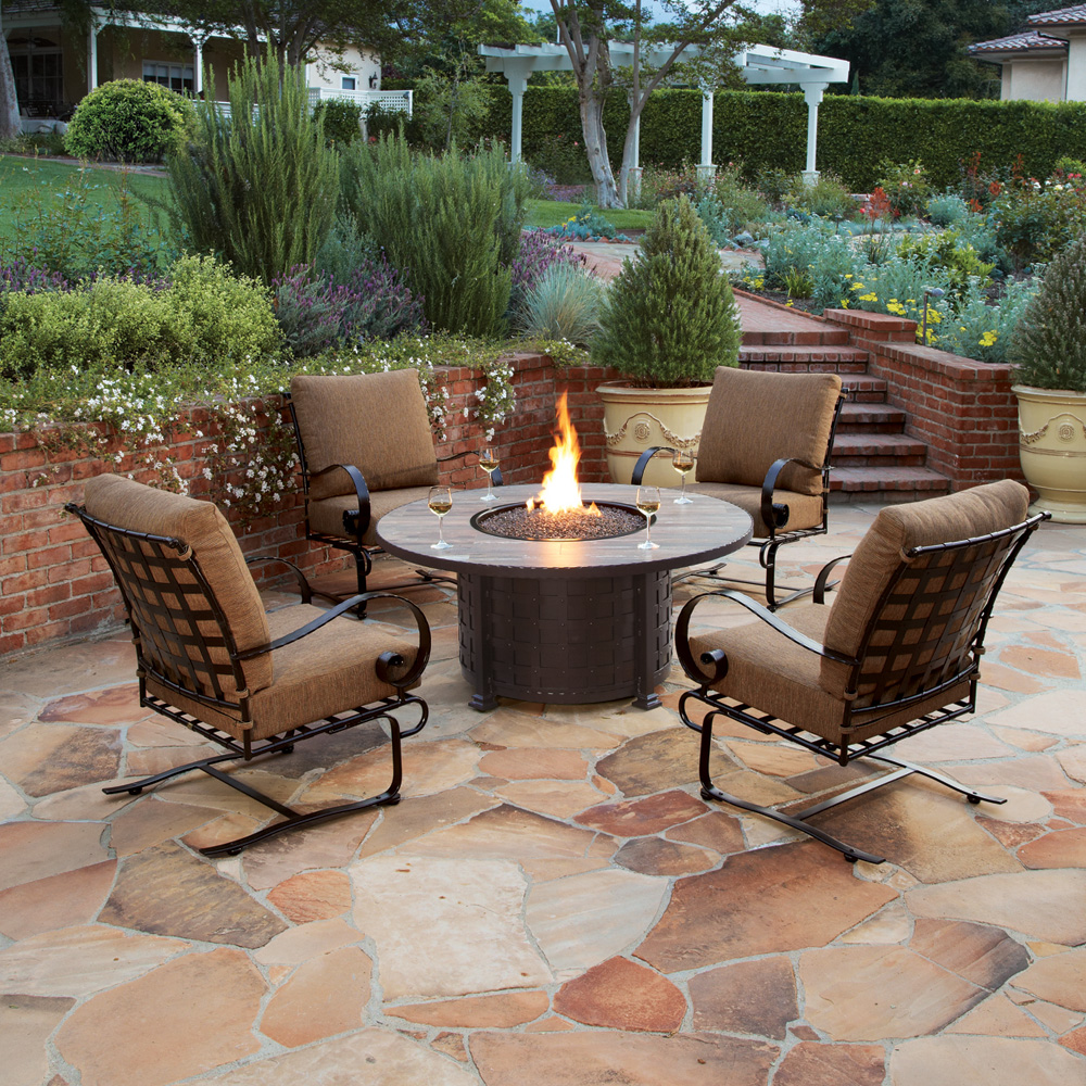 Ow Lee Luxurious Outdoor Casual Furniture And Fire Pits Ow Lee 48 Piece Outdoor Wicker Seating