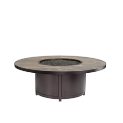 "OW Lee Elba 54"" x Round Occasional Height Fire Table - 5122-54RDO"