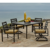 OW Lee Gios 5 Piece Dining Set