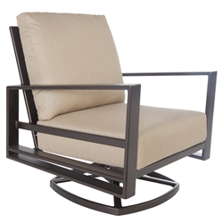 Gios Swivel Rocker Club Chair - 4535-SR