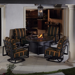 OW Lee Gios Firepit Chat Set