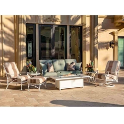 OW Lee Grand Cay Outdoor Furniture with Sofa and Lounge Chairs - OW-GRANDCAY-SET3