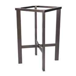 OW Lee Modern Aluminum Bar Table Base - MA-BT03