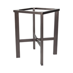 OW Lee Modern Aluminum Counter Height Table Base - MA-CT03