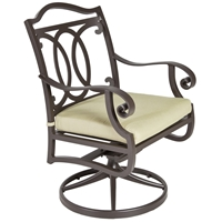 OW Lee Palisades Swivel Rocker Dining Arm Chair - 4653-SR