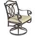 Palisades Swivel Rocker Dining Chair