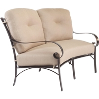 OW Lee Pasadera Crescent Love Seat - 86155-2S
