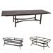 Classico-W 10 Seat Dining Set w/Expanding Tile Top Table - OW-CLASSICO-SET1
