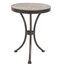 "OW Lee Quick Ship 18"" Rd. Side Table - QS-51-LT18RD"