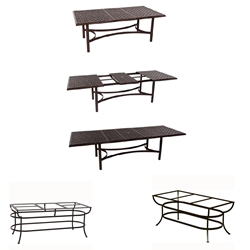 OW Lee Richmond Cast Top Expanding Dining Table - A42116RTCU-DT10