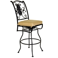 OW Lee San Cristobal Armless Swivel Bar Stool - 651-SBS