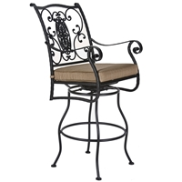 OW Lee San Cristobal Swivel Bar Stool with Arms - 653-SBS