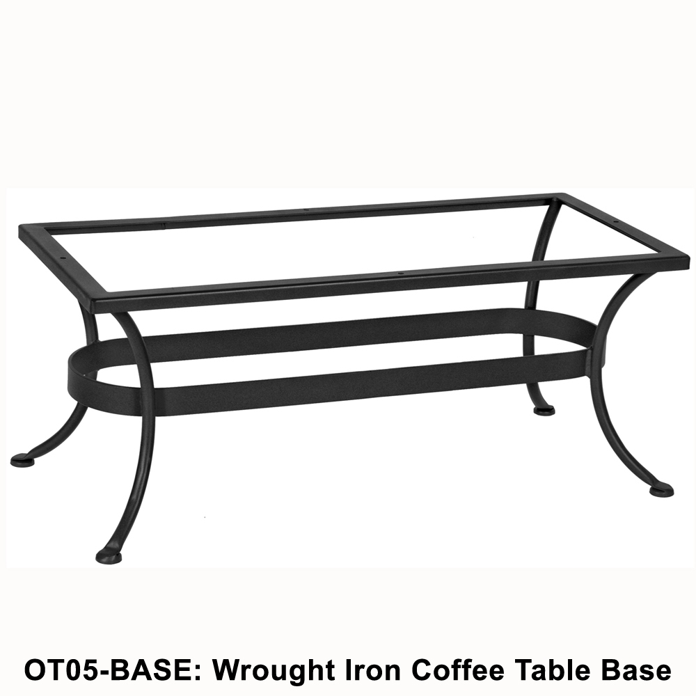 Standard Wrought Iron Rectangular Coffee Table Base Ow Lee At