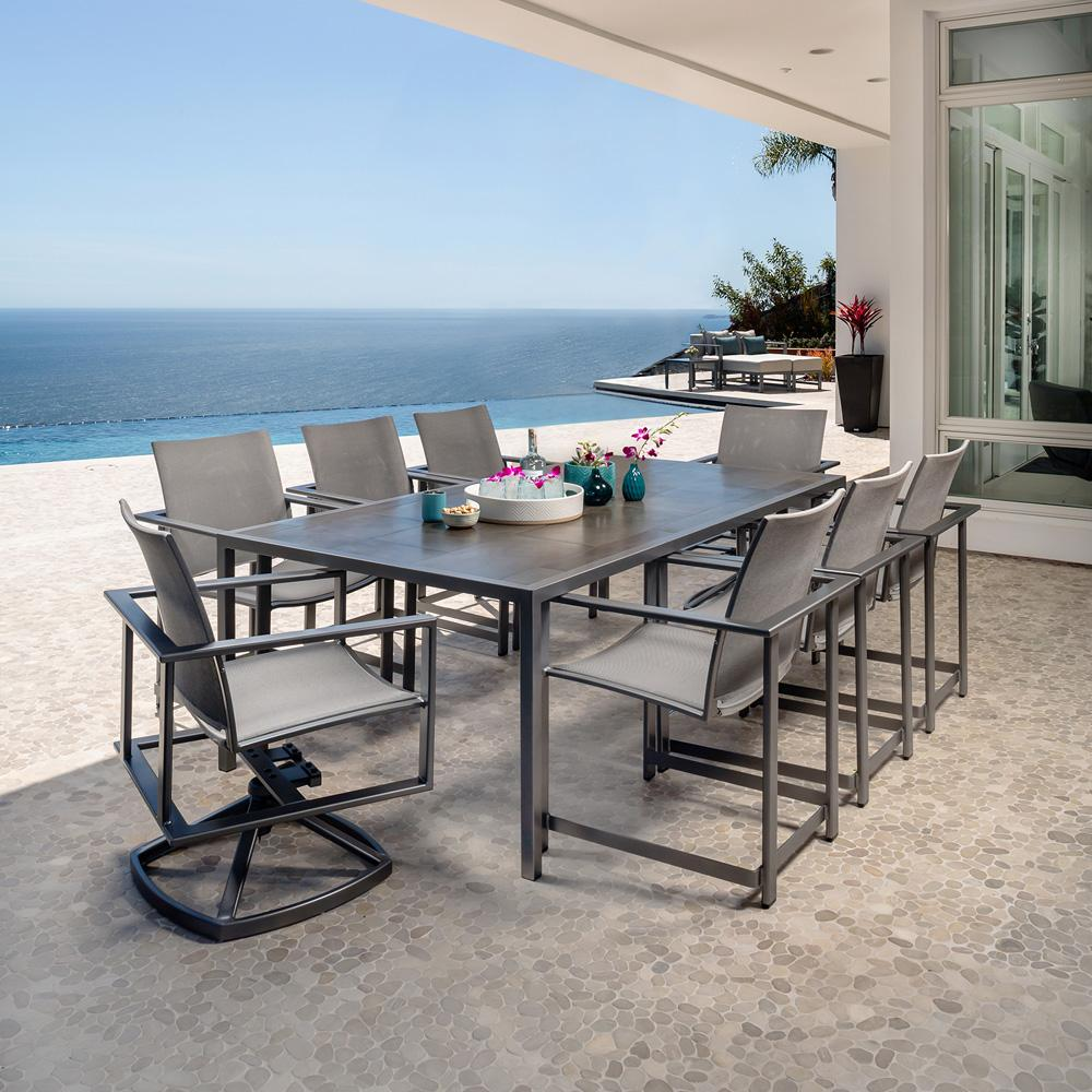 OW Lee Studio Modern Patio Dining Set for 8