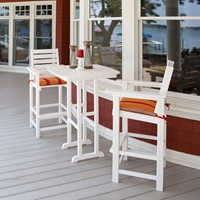 PolyWood Captain Bar-Height Bistro Set - PW-CAPTAIN-SET4