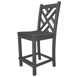 PolyWood Chippendale Counter Height Side Chair - CDD101