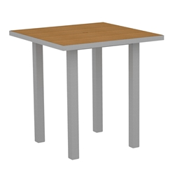 PolyWood Euro 36 inch Square Counter Table - ATR36