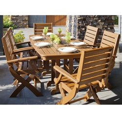 PolyWood Signature 7 Piece Dining Set - PW-SIGNATURE-SET1