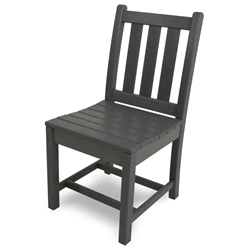PolyWood Traditional Garden Dining Side Chair - TGD100