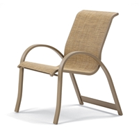 Aruba II Sling Stacking Arm Chair