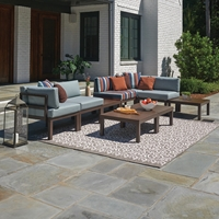 Telescope Casual Ashbee Modular Patio Sectional - TC-ASHBEE-SET06