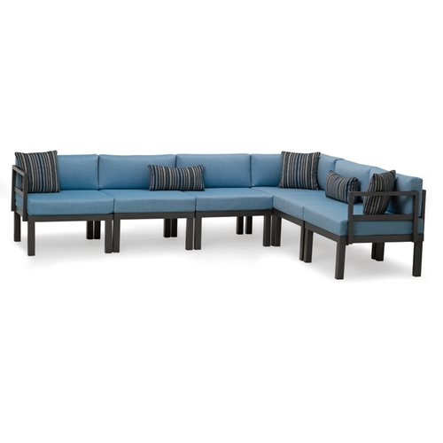 Telescope Casual Ashbee Cushion Patio Sectional - TC-ASHBEE-SET08