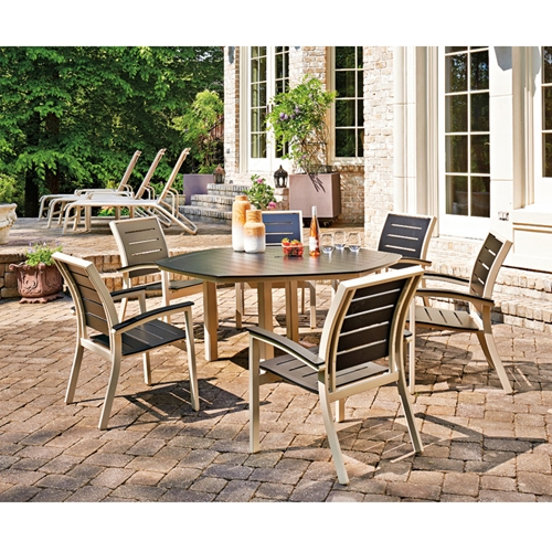 Telescope Casual Bazza MGP Dining Set with Hexagon Dining Table - TC-BAZZA-SET7