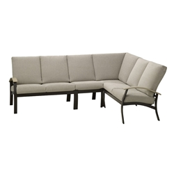 Telescope Casual Belle Isle Cushion Modular Outdoor Sectional Set - TC-BELLEISLE-SET09