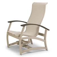 Telescope Casual Belle Isle Sling Hidden Motion Chat Chair - L030