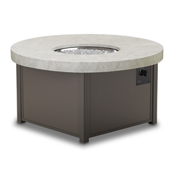 "Telescope Casual 48"" Round Elements Top Fire Table - 2F80"
