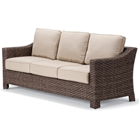Telescope Casual Lake Shore Wicker Sofa - 2L50