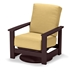 Leeward MGP Cushion Hidden Motion Swivel Rocker - 8690
