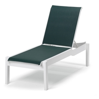 Leeward MGP Sling Long Frame Armless Chaise