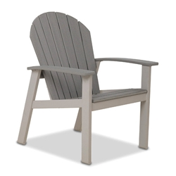 Telescope Casual Newport Dining Chair with Rustic Polymer - 1N70