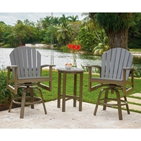 Telescope Casual Newport 3 Piece Balcony Height Set - TC-NEWPORT-SET3
