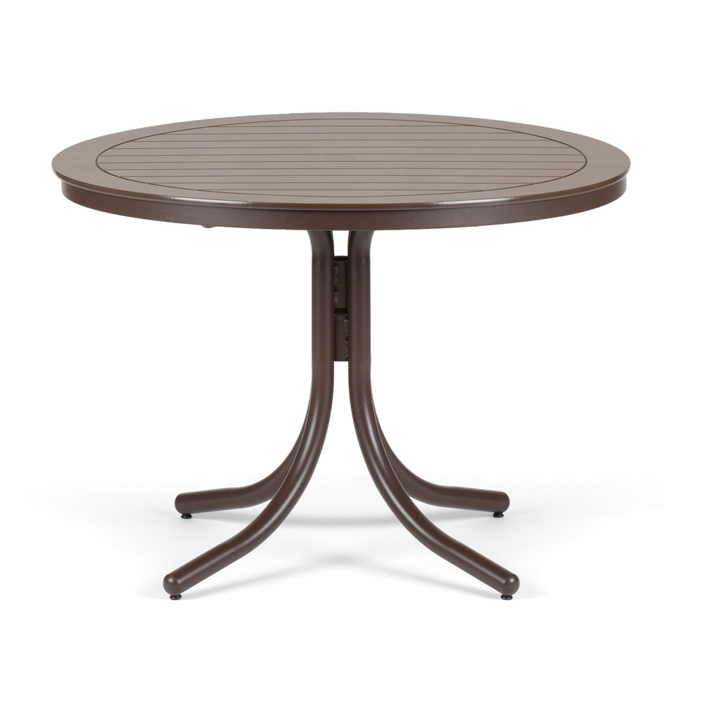 42 Round Mgp Top Dining Table Telescope Casual At