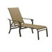 Telescope Casual Villa Sling 4-Position Lay-flat Stacking Chaise Lounge - 6V20