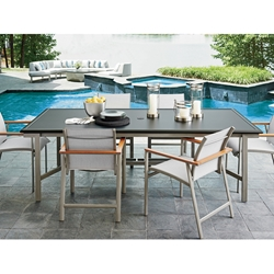 Tommy Bahama Del Mar Outdoor Dining Set for 6 - TB-DELMAR-SET6