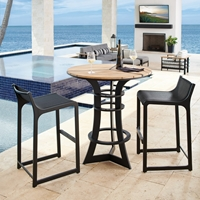 Tommy Bahama South Beach Outdoor Bar Set for 2 - TB-SOUTHBEACH-SET3