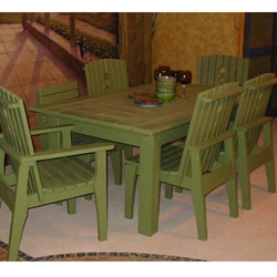 Uwharrie Chair Behrens 69 Inch Rectangular Dining Table - B091