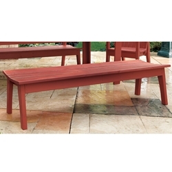 Uwharrie Chair Behrens Four-Seat Bench - B099