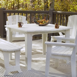 Uwharrie Chair Carolina Preserves 48 Inch Square Dining Table - C092