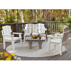Uwharrie Chair Carolina Preserves Patio Lounge Set for 4 - UW-CAROLINA-SET4