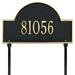 Arch Marker Standard Lawn Address Plaque - One Line - 1105
