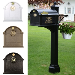 Whitehall Balmoral Mailbox- Deluxe Package - 1623X-1624X