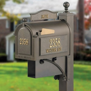 Whitehall Capital Mailbox- Ultimate Package - 163-03-05-04-24