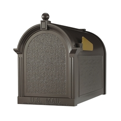 Whitehall Capitol Mailbox in Bronze