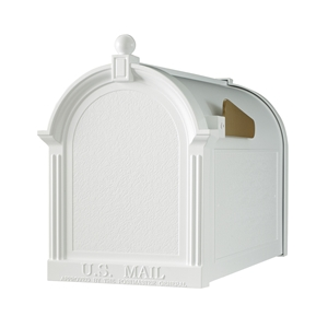 Whitehall Capitol Mailbox in White