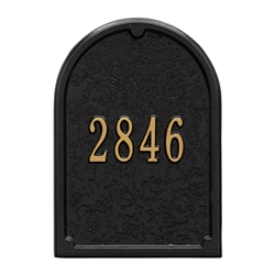 Whitehall Capitol Mailbox Personalized Door Plaque